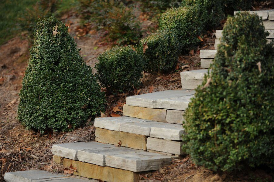 Chatsworth Georgia stone steps landscaping OuterElements